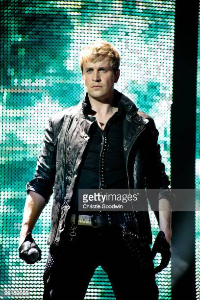 Kian Egan of Westlife performs at 02 Arena on May 12 2010 in London England