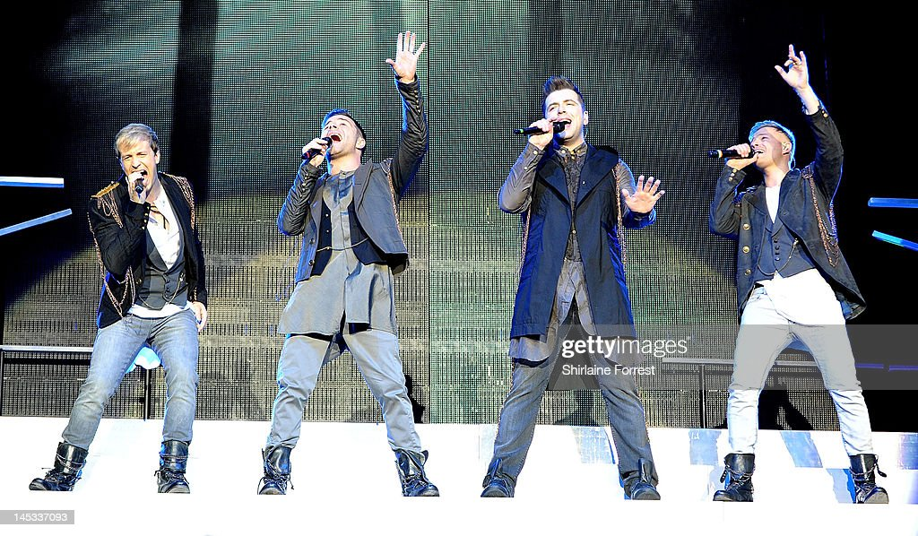 Westlife Perform in Manchester : News Photo