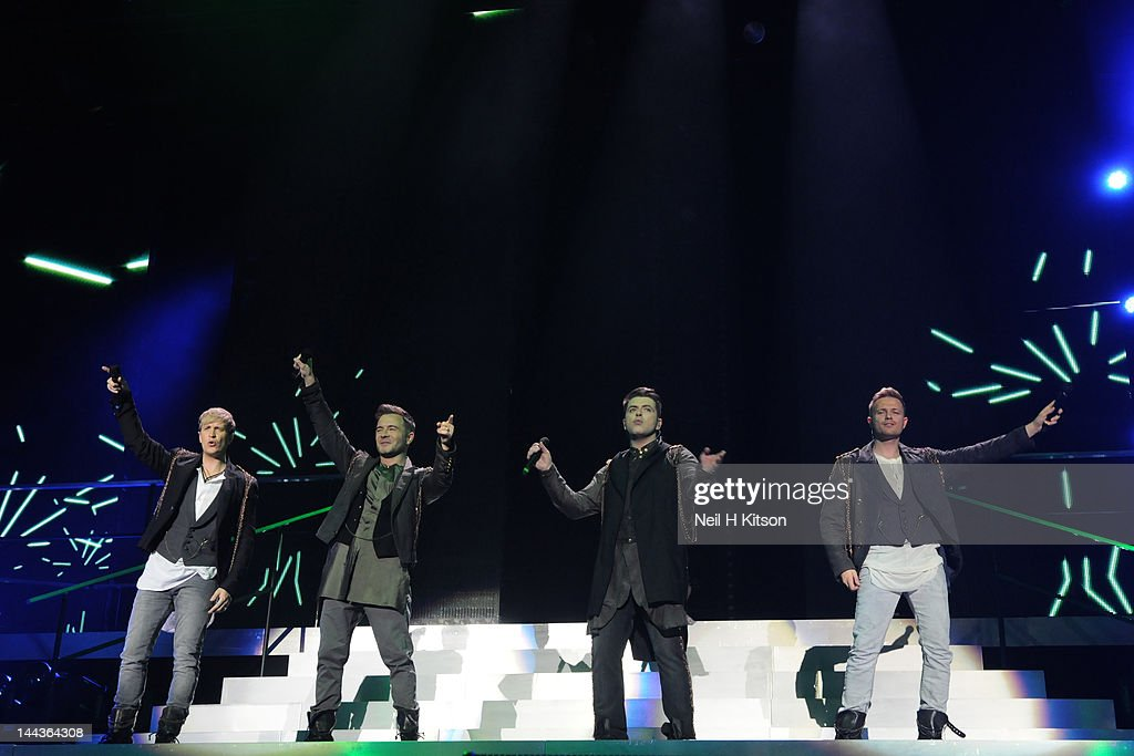 Westlife Perform At Motorpoint Arena In Sheffield : News Photo