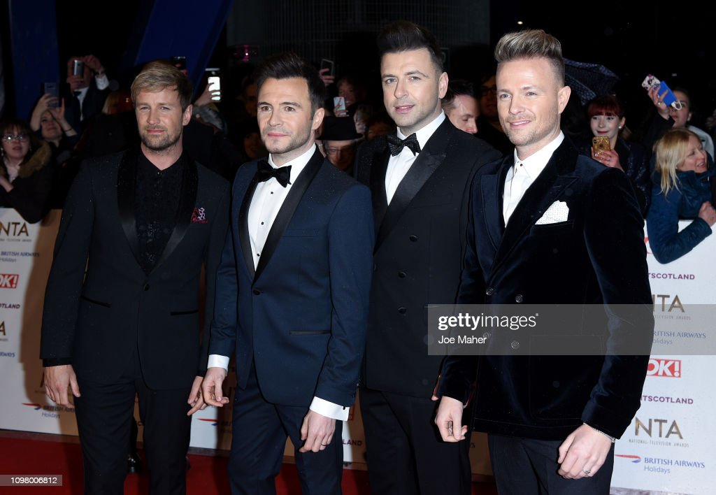 National Television Awards 2019 - Red Carpet Arrivals : News Photo