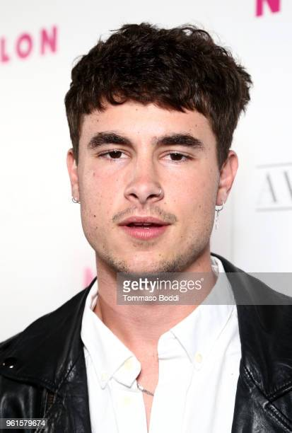 Kian Lawley attends NYLON's Annual Young Hollywood Party sponsored by Pinkie Swear at Avenue Los Angeles on May 22 2018 in Hollywood California