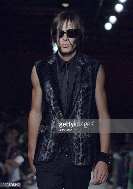 Kian Mitchum wearing HALB Spring/Summer 2007 during Tokyo Fashion Week Spring/Summer 2007 HALB Runway at Laforet Museum Roppongi in Tokyo Japan