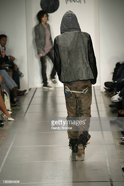 Kian Mitchum wearing Yanuk Fall 2006 during MercedesBenz Fall 2006 LA Fashion Week at Smashbox Studios Yanuk Runway at Smashbox Studios in Culver...
