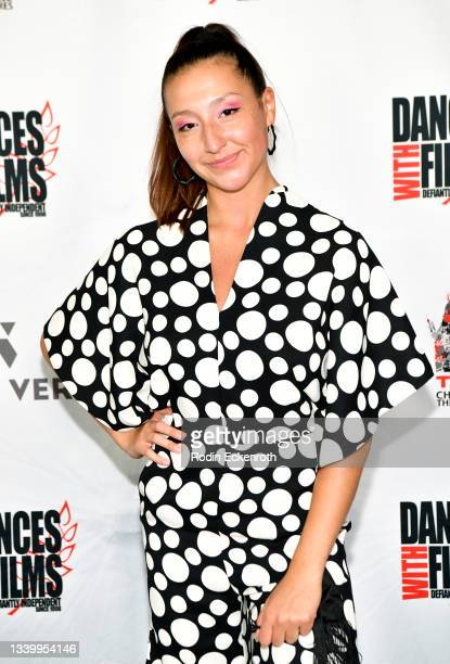 """Kiana Kabeary attends the Closing Night of Dances with Film Festival with premiere of """"Mister Sister"""" at TCL Chinese Theatre on September 12, 2021 in..."""
