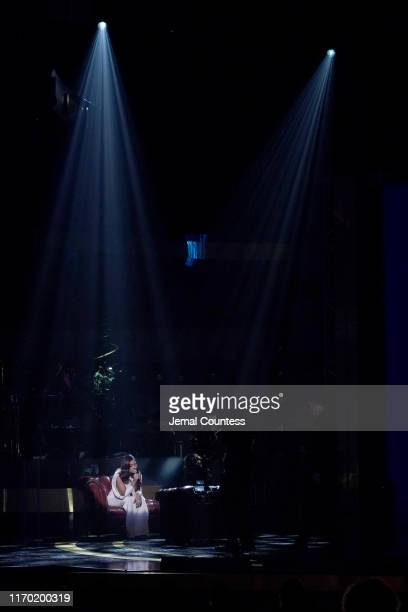 Kiana Ledé performs onstage at Black Girls Rock 2019 Hosted By Niecy Nash at NJPAC on August 25 2019 in Newark New Jersey