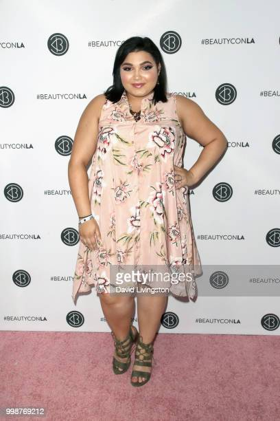 Kiana Lyz Rivera attends the Beautycon Festival LA 2018 at the Los Angeles Convention Center on July 14 2018 in Los Angeles California