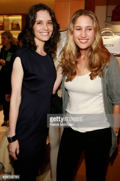 Kiane Von Mueffling and Alison Brokaw attend TOD'S And W MAGAZINE Host Cocktails To Benefit LOVE HEALS at Tod's on February 11 2009 in New York City