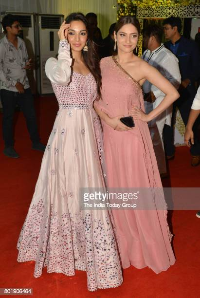 Kiara Advani and Ankita Lokhande attends the Iftar party hosted by Congress leader Baba Siddique in Mumbai