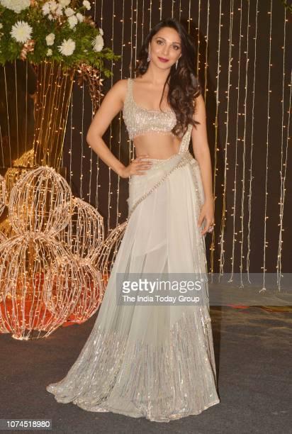 Kiara Advani at Priyanka Chopra and Nick Jonass reception in Mumbai
