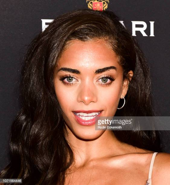 Kiara Barnes attends the Television Academy's Daytime Programming Peer Group Reception at Saban Media Center on August 22 2018 in North Hollywood...