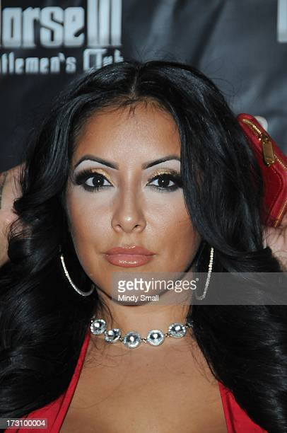 Kiara Mia arrives at the Crazy Horse III Gentleman's Club on July 6 2013 in Las Vegas Nevada