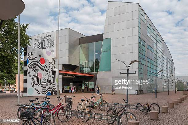 Kiasma Modern art Museum at Helsinki ,Finland
