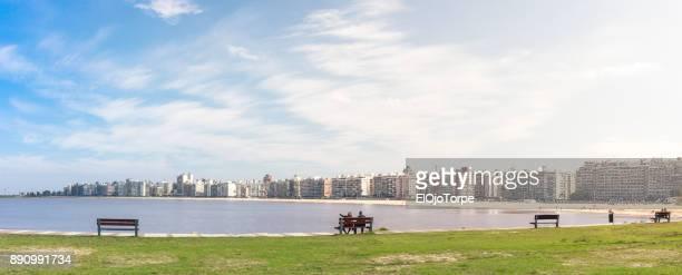 Kibon and Pocitos beach, Montevideo, Uruguay