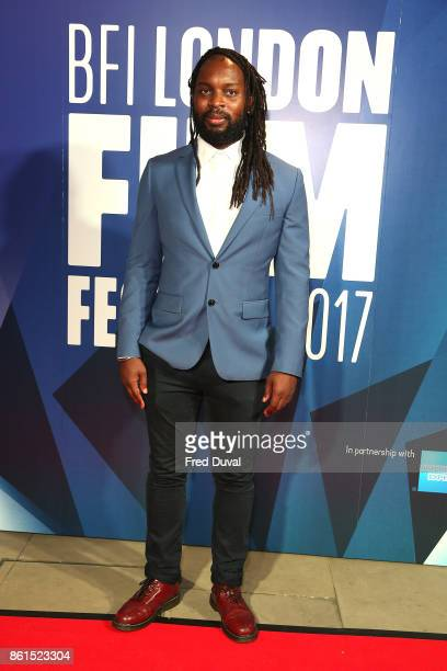 Kibwe Tavares attends the 61st BFI London Film Festival Awards on October 14 2017 in London England