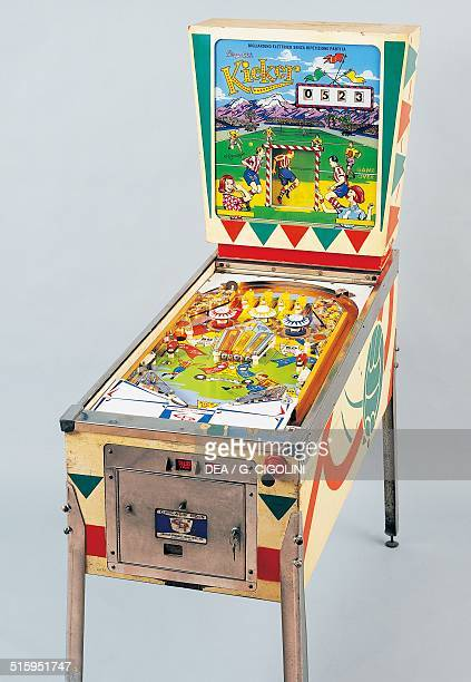 Kicher pinball machine made by Chicago Coin 1965 United States of America 20th century