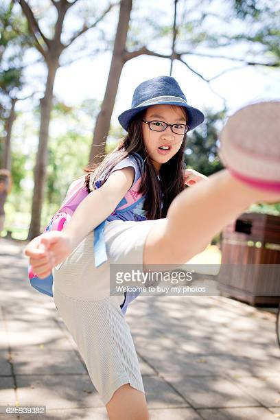 kick it off ; pretend to lift foot kicking something or someone off. - spanking stock photos and pictures