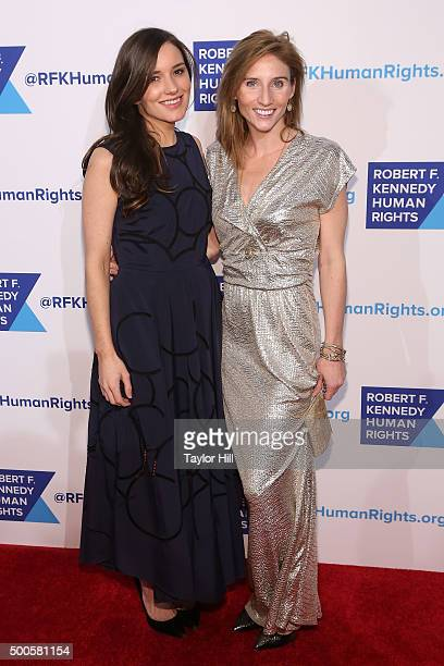 Kick Kennedy and guest attend as Robert F Kennedy Human Rights hosts The 2015 Ripple Of Hope Awards honoring Congressman John Lewis Apple CEO Tim...