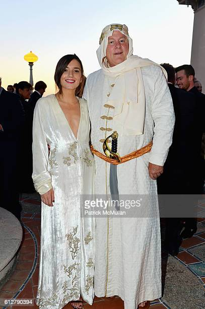 Kick Kennedy and Jamie Figg attend Hearst Castle Preservation Foundation Annual Benefit Weekend Legends of the Silver Screen Costume Gala at Hearst...