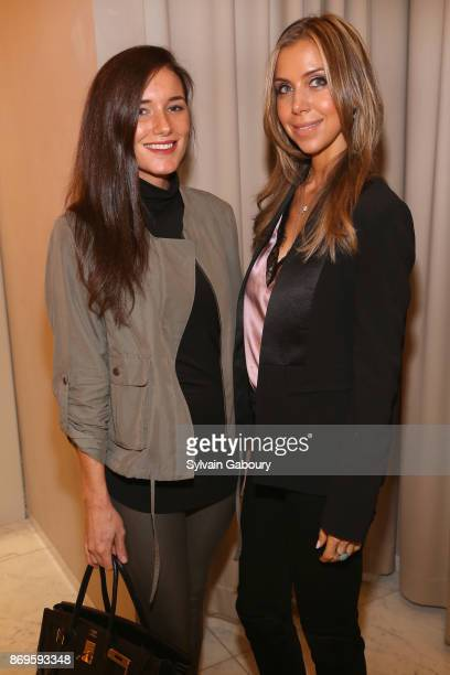 Kick Kennedy and Perrine Meistrell attend Quest Nirav Modi Champagne Reception on November 2 2017 in New York City