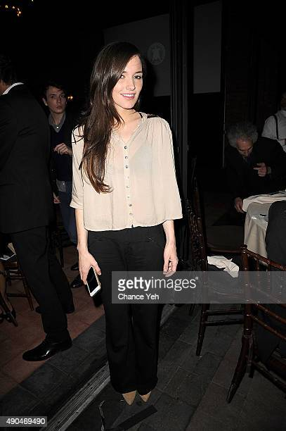 Kick Kennedy attends 3rd Annual Turtle Ball at The Bowery Hotel on September 28 2015 in New York City