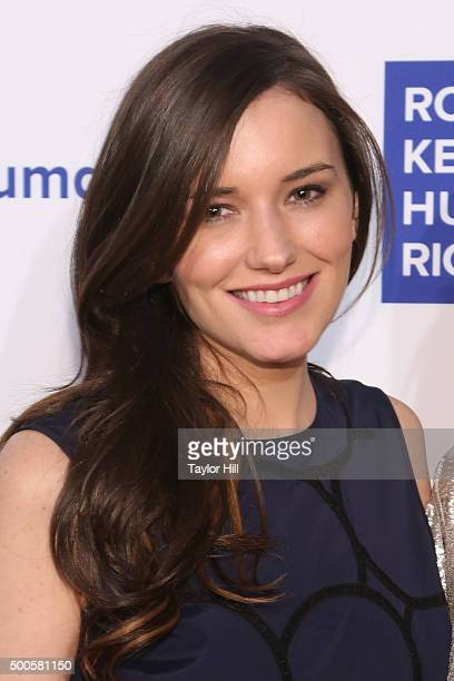 Kick Kennedy attends as Robert F Kennedy Human Rights hosts The 2015 Ripple Of Hope Awards honoring Congressman John Lewis Apple CEO Tim Cook...