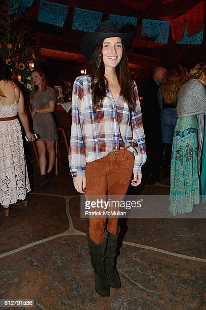 Kick Kennedy attends Hearst Castle Preservation Foundation Annual Benefit Weekend 2016 Hearst Ranch Patron Cowboy Cookout at Hearst Ranch on October...