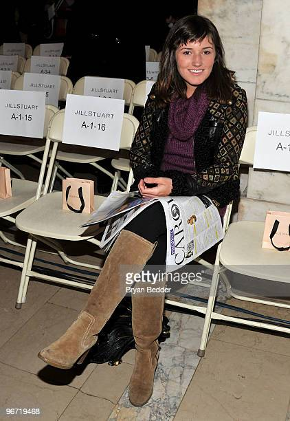 Kick Kennedy attends the Jill Stuart Fall 2010 Fashion Show during MercedesBenz Fashion Week at the New York Public Library on February 15 2010 in...