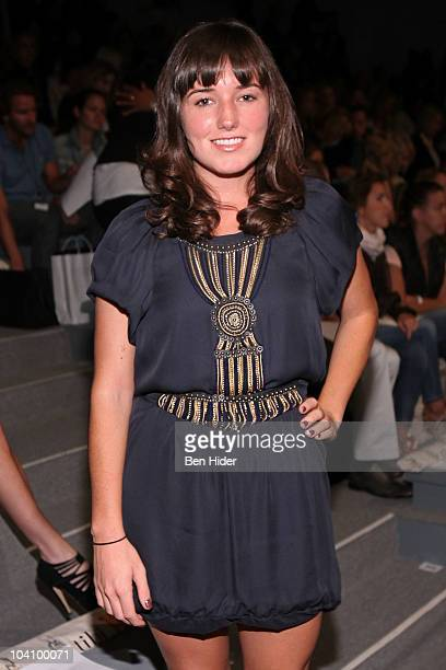 Kick Kennedy attends the Tibi Spring 2011 fashion show during MercedesBenz Fashion Week at The Stage at Lincoln Center on September 14 2010 in New...