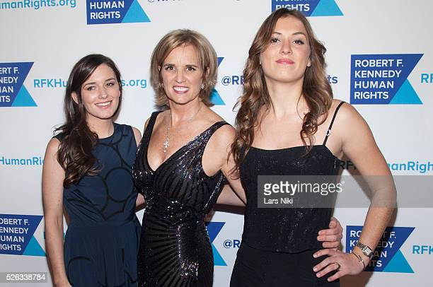 Kick Kennedy Kerry Kennedy and Mariah Kennedy Cuomo attend The 2015 Ripple Of Hope Awards at the New York Hilton in New York City �� LAN
