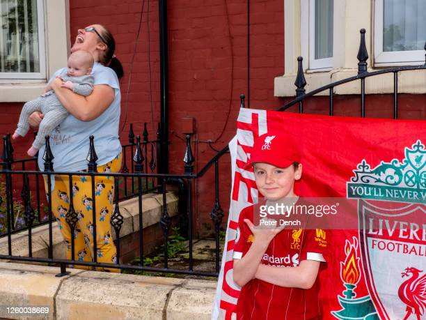 Kick Off 15:00. Liverpool 1 - 1 Burnley. 10 year old Devon lives next to Anfield on Anfield Road. He is the eighth of ten children. Mo salah is his...