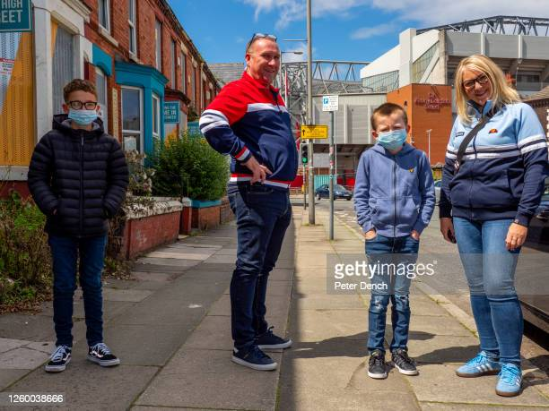 Kick Off 15:00. Liverpool 1 - 1 Burnley. Gary, partner Donna, Oliver and Tyler arrive at Anfield from the outskirts of St. Helens around a 20 minute...