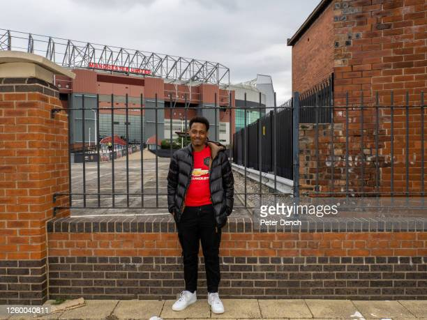 Kick off 18:00. Manchester United 1 - 1 West Ham United. Wearing his Manchester United shirt, fan Hanad Said has travelled down from Glasgow,...
