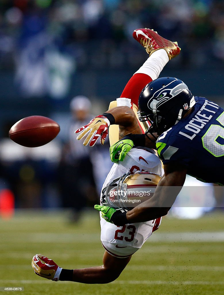 NFC Championship - San Francisco 49ers v Seattle Seahawks : News Photo