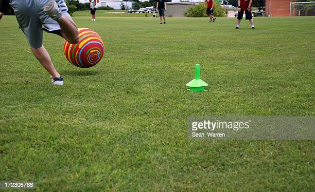 kickball classic - kickball stock photos and pictures