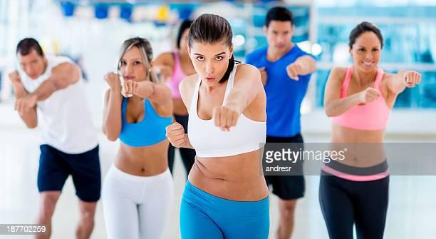 Cours de kick-boxing