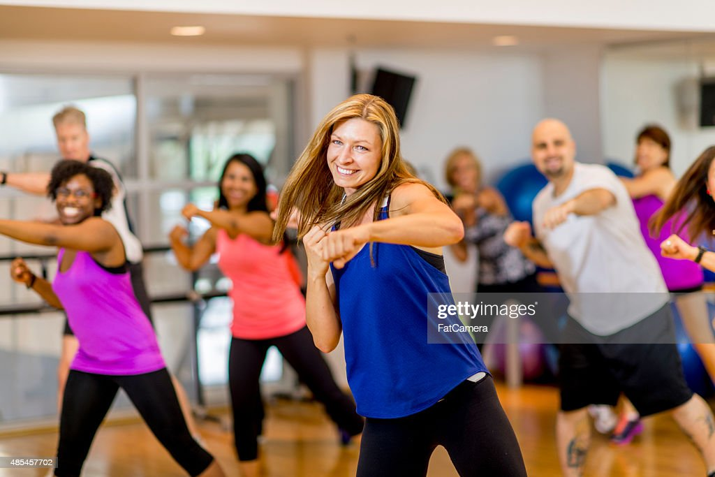 Kickboxing Class : Stock Photo