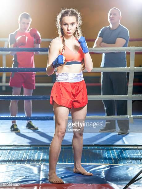 Kickboxen Mädchen
