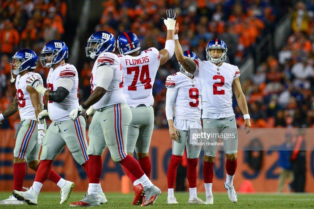 New York Giants vDenver Broncos