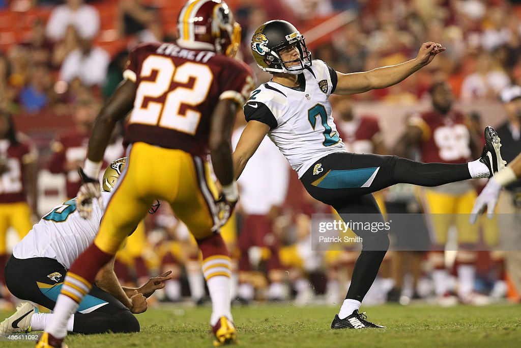 Jacksonville Jaguars v Washington Redskins : News Photo