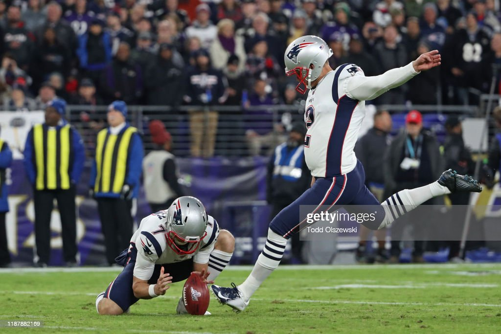 New England Patriots v Baltimore Ravens : News Photo