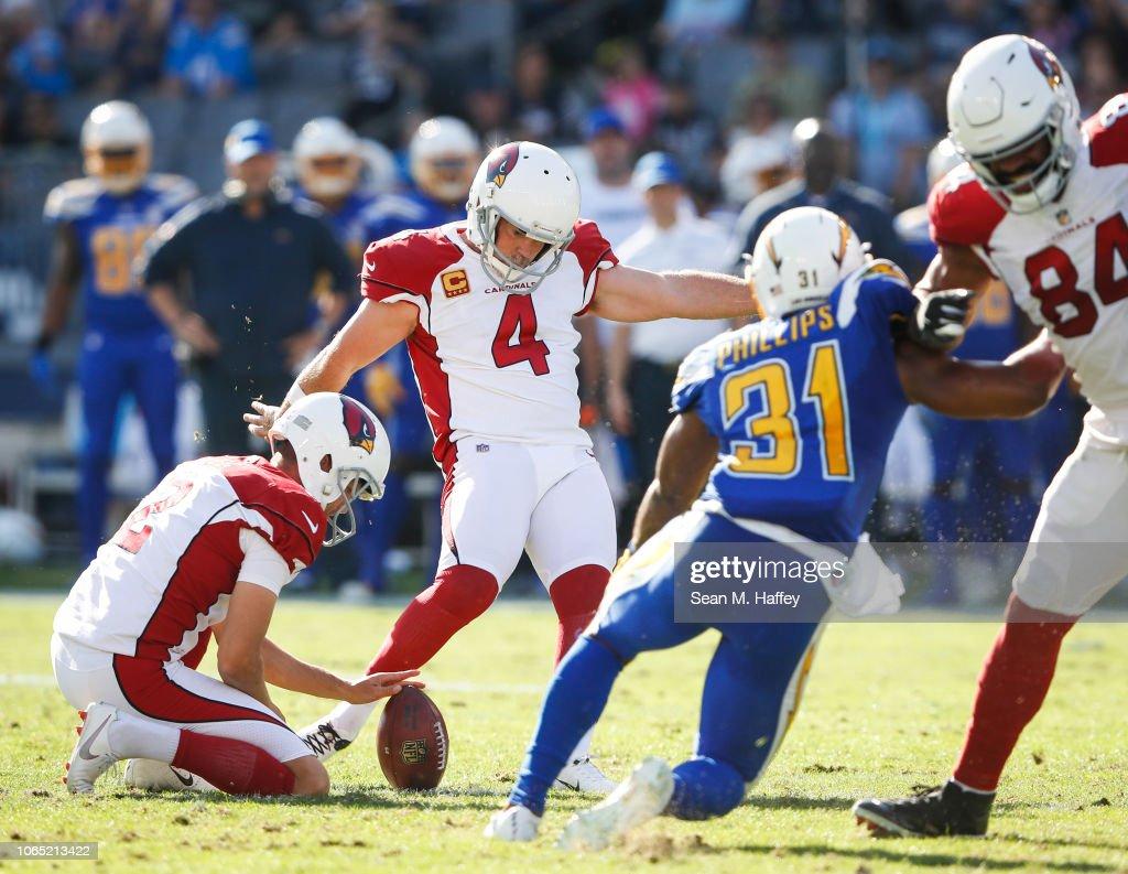 Arizona Cardinals v Los Angeles Chargers : Fotografia de notícias