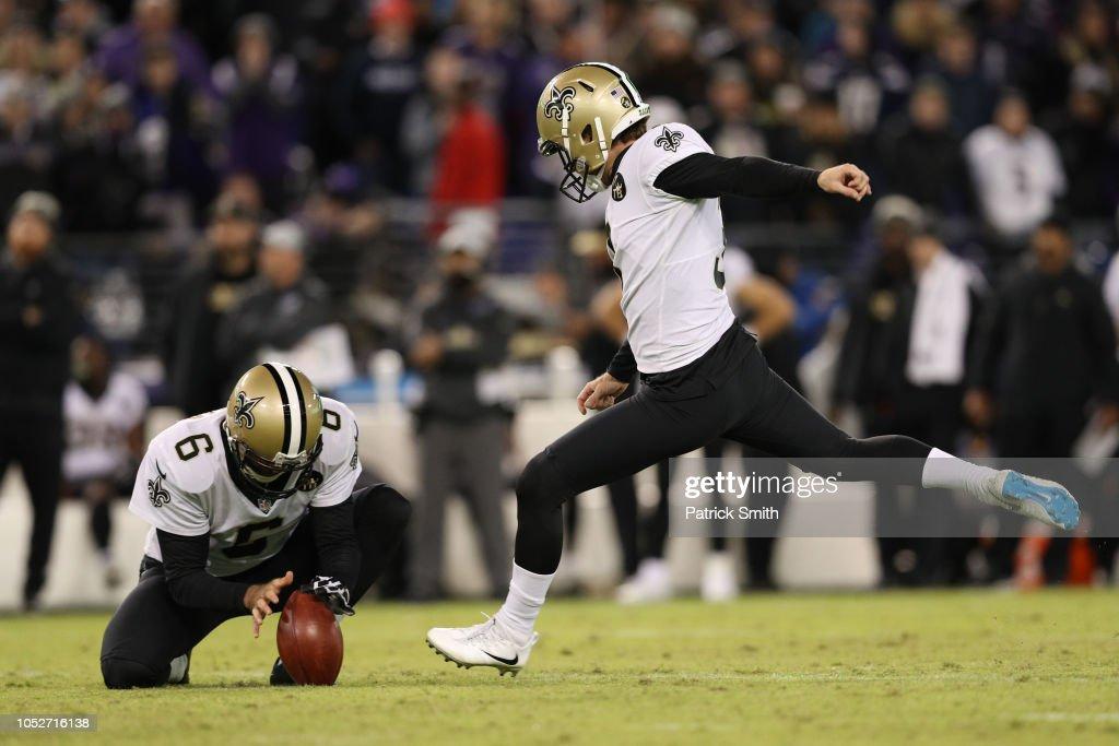 New Orleans Saints v Baltimore Ravens : Fotografia de notícias
