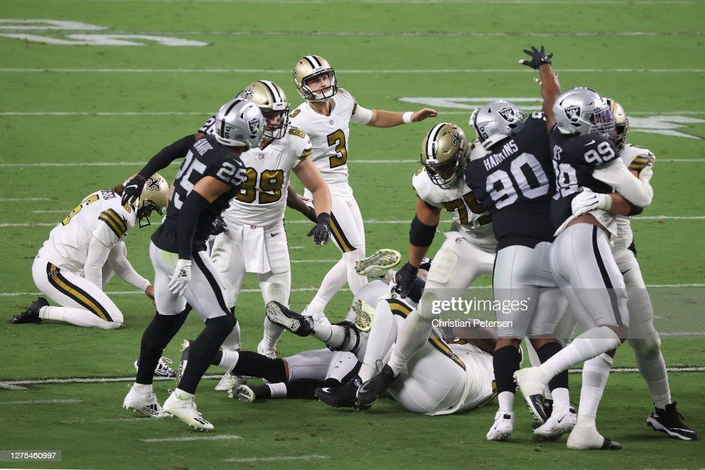 New Orleans Saints v Las Vegas Raiders : ニュース写真