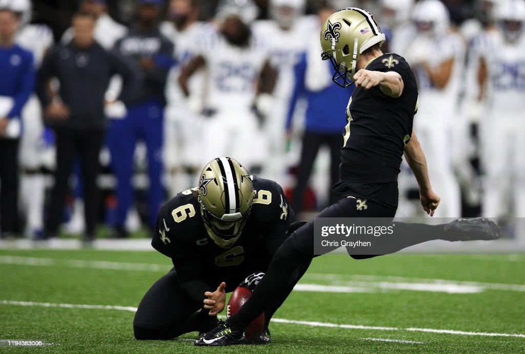 Indianapolis Colts vNew Orleans Saints : ニュース写真