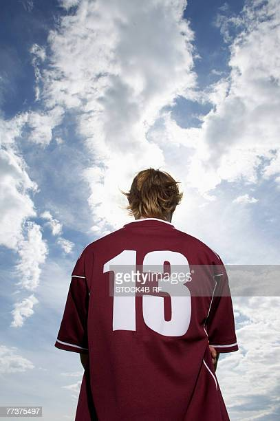 Kicker with number 13