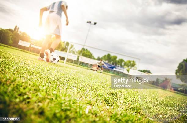 Kicking A Penalty
