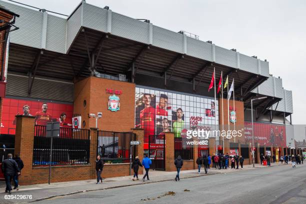 kick-off - liverpool f.c. photos stock pictures, royalty-free photos & images