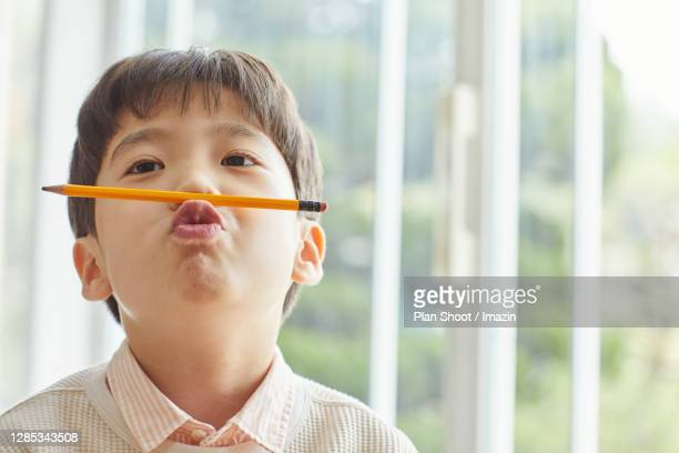 https www gettyimages com photos biting pencil