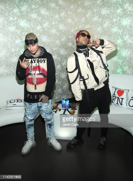 Kid Buu and guest are seen as Fashion Nova Presents Party With Cardi at Hollywood Palladium on May 8 2019 in Los Angeles California