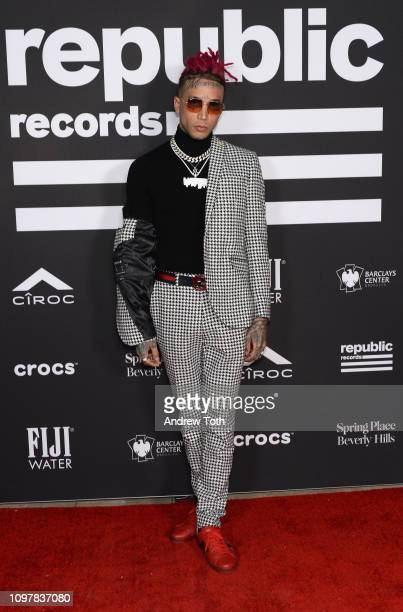 Kid Buu attends Republic Records Grammy after party at Spring Place Beverly Hills on February 10 2019 in Beverly Hills California